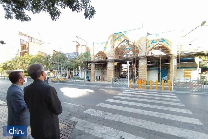 شروع فصل دوم بازسازی و احیای بازار تاریخی سرشور مشهد