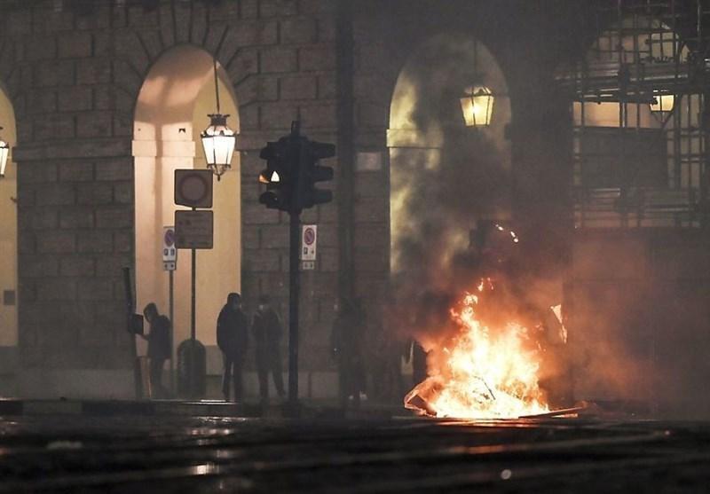 کرونا در اروپا، از قرنطینه سراسری در بعضی کشورها تا تداوم اعتراضات خشونت بار در ایتالیا