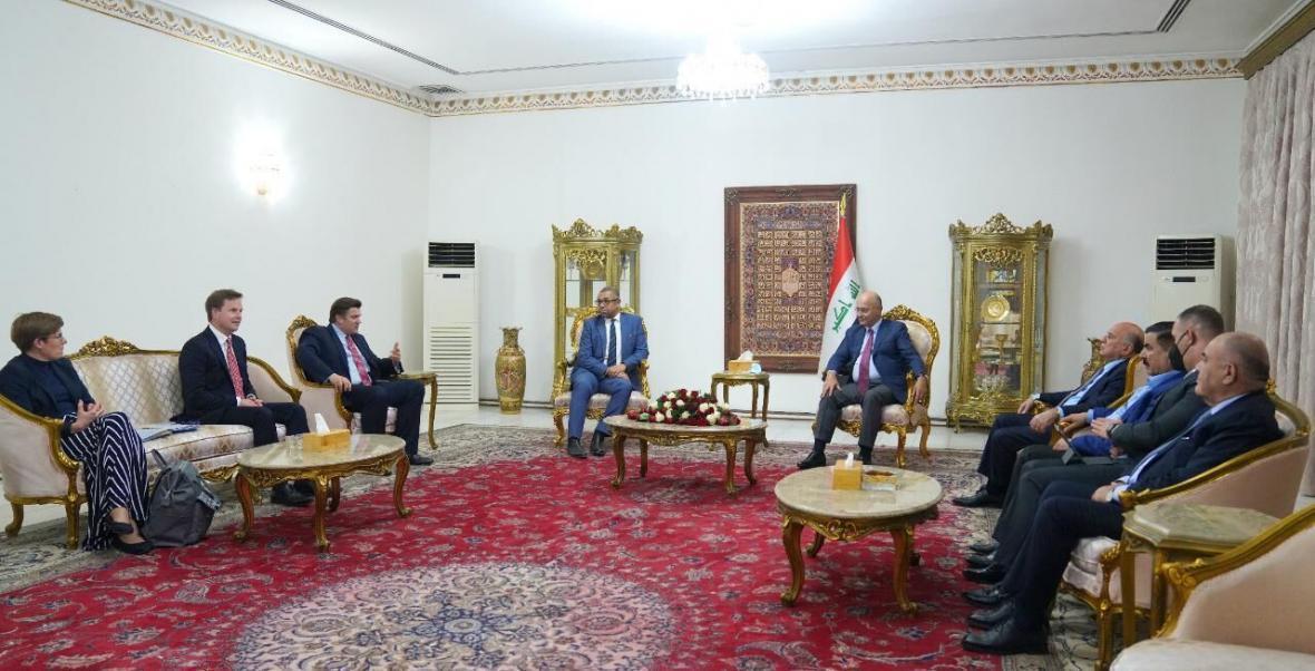 درخواست رئیس جمهوری عراق برای کاهش تنش ها در منطقه