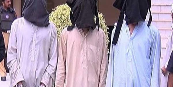 دستگیری 3 مظنون به حملات تروریستی در پاکستان