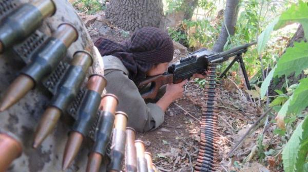 کشته شدن 7 عضو پ. ک. ک و ی .پ .گ در شمال سوریه
