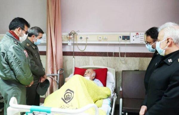 عیادت رئیس سازمان تربیت بدنی ارتش از قهرمان وزنه برداری آسیا و ارتش های دنیا
