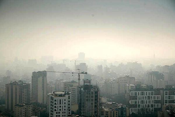 سرنخ آلودگی مرموز در تهران و کلانشهر