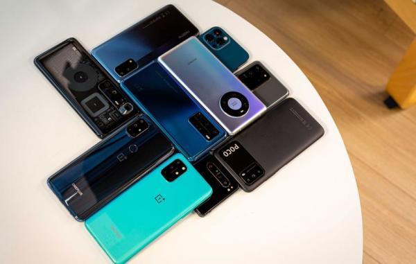 فروش گوشی های هوشمند در سال 2020 کاهش 8.8 درصدی داشته است