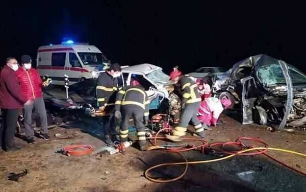مرگ دو هنرمند ارومیه ای در تصادف رانندگی
