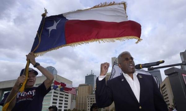 خبرنگاران بعضی جمهوریخواهان تگزاس در پی جدایی این ایالت از آمریکا هستند