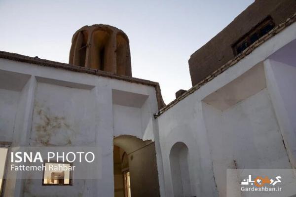 تنها بادگیر گرد ایران در یزد، عکس