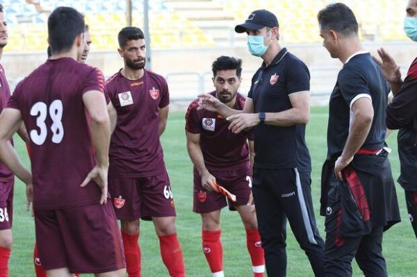 اخطار ویژه گل محمدی به بازیکنان پرسپولیس