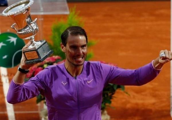 نادال با غلبه بر جوکوویچ برای دهمین بار فاتح مسابقات تنیس مَسترز رم شد