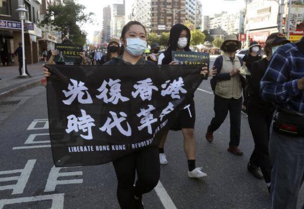 هنگ کنگ: تایوان به شدت در امور ما دخالت می نماید