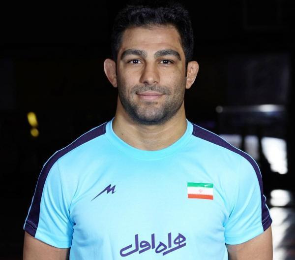 رقابت های کشتی آزاد قهرمانی آسیا، حسینی خانی به مدال نقره رسید