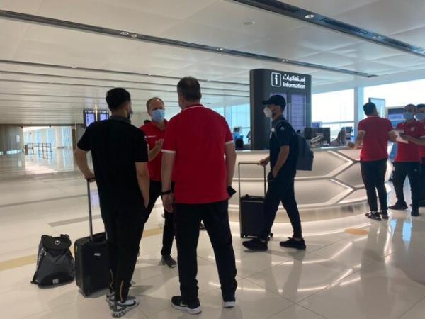 تیم ملی به بحرین رسید