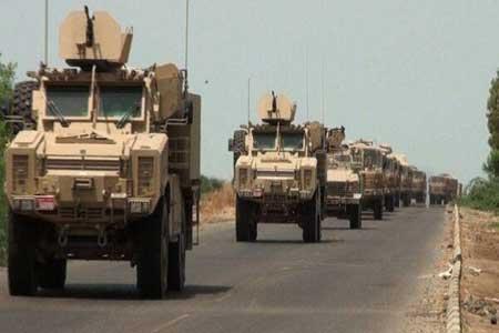 کاروان لجستیک آمریکا در عراق هدف نهاده شد
