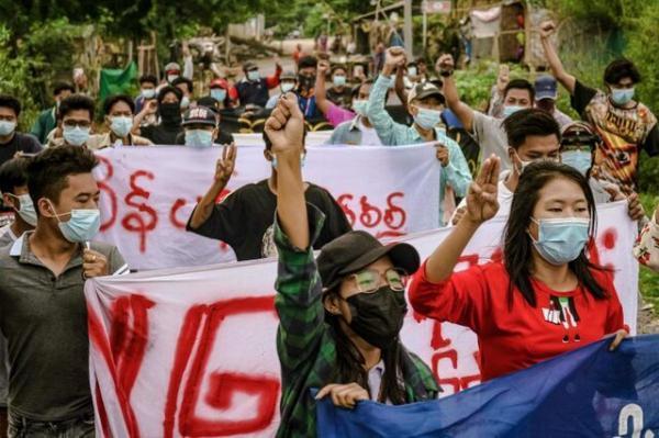 ملاقات دیپلمات ارشد وزارت خارجه آمریکا با فرستاده سازمان ملل برای میانمار