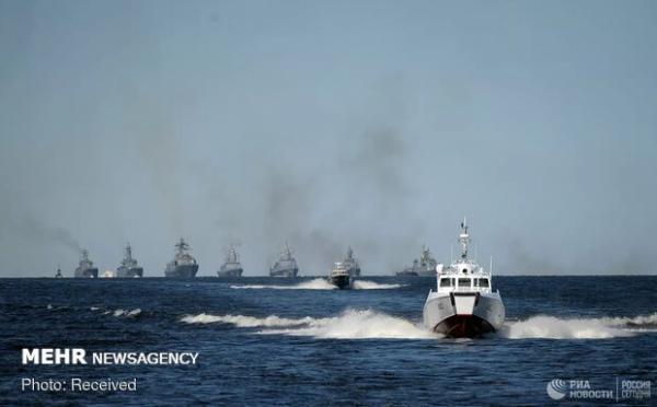 روسیه دستور کار رزمایش دریایی پاسیفیک را اظهار داشت
