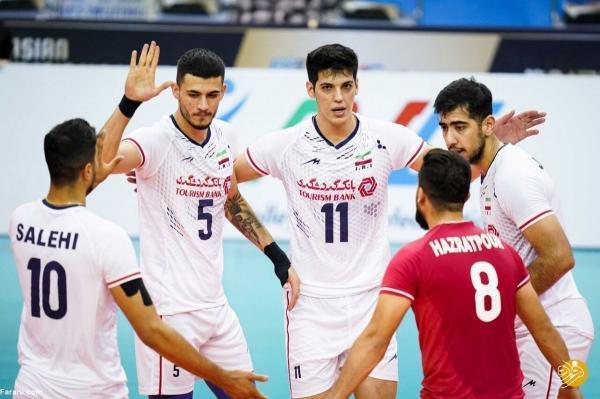 ساعت بازی والیبال ایران ، ژاپن